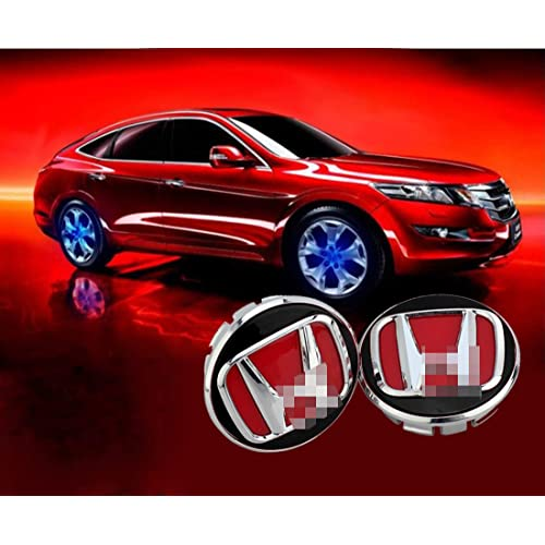 Kanuoc Car Door Paste Projector Lights Logo Suitable for Honda Series 2PCS Wireless Led Ghost Shadow Welcome Courtesy Light with Magnetic Sensor for Honda Civic Accord Crv Fit Jazz City Hrv CR-v