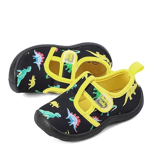 RANLY /& SMILY Kids Aquatic Cute Water Shoes Girls /& Boys Walking Sneakers Sandals