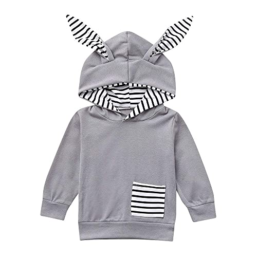 Autumn Baby Outfits,Fineser Cute Infant Toddler Baby Girls Boys Bear Dot Ear Hooded Pullover Tops+Pants Clothes Outfits Set