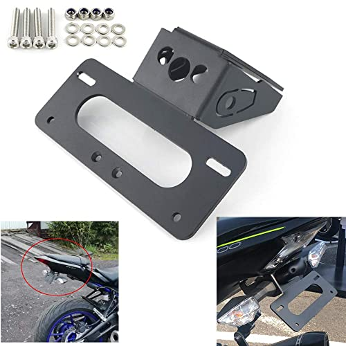 For KAWASAKI Z900 2018 2019 License Plate Holder Fender Eliminator//Tail Tidy Compatible with OEM License Plate Light and OEM//Stock Turn Signal