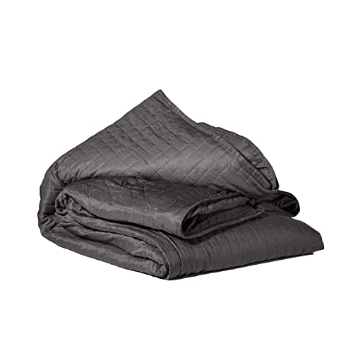 Soft Removable Washable Cover Hirdou Weighted Blanket for Adults Anxiety Blanket Stress Relief 5kg 125cm x 200cm Minky Dot