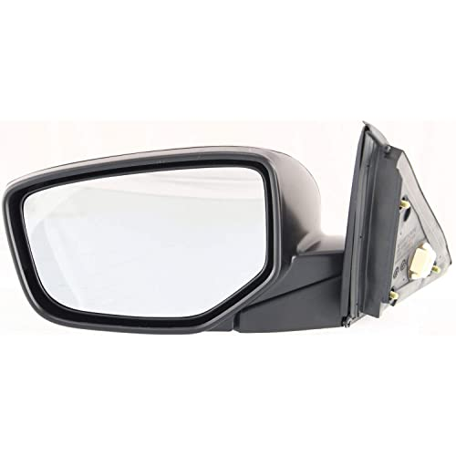Mirror Compatible with 2015-2018 Ford F150 Power Manual Folding Heated with Blnd Spt Glss and Pdl//Signal Light All Cab Types Textured Black Passenger Side Raptor To 2-26-18