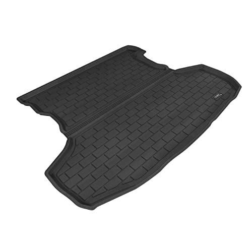 Kagu Rubber Tan 3D MAXpider Second Row Custom Fit All-Weather Floor Mat for Select Lexus GX460 Models