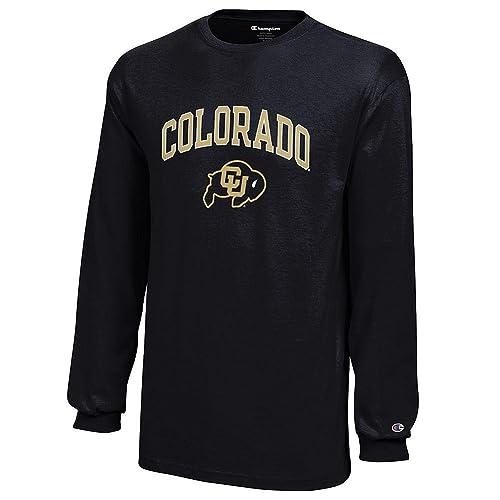 Elite Fan Shop NCAA Kids Long Sleeve T Shirt Team Color Arch