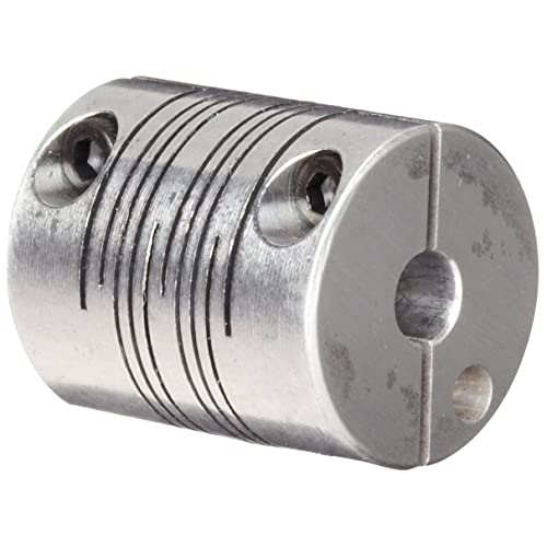 38.1 mm Length 28.6 mm OD 4-Beam Set Screw Style 9 mm x 9 mm Bores Ruland PSMR29-9-9-A 7075 Aluminum Beam Coupling