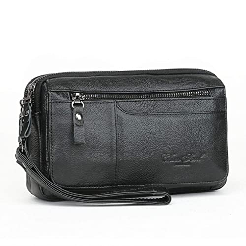7fd6ad1716fd Buy Hebetag Leather Clutch Purse Wallet for Men Organizer Holder ...