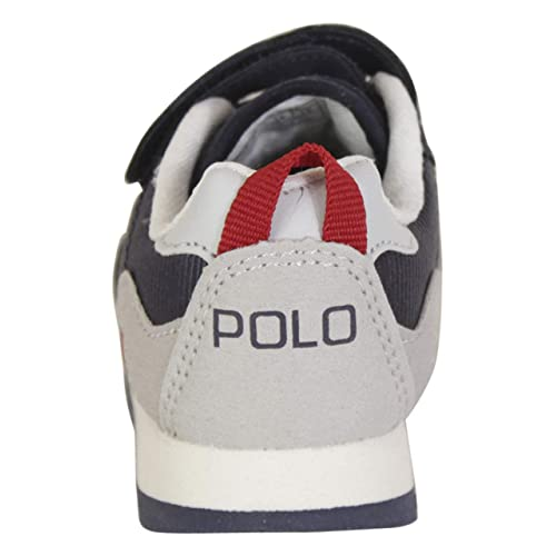 Polo Ralph Lauren Toddler Boy/'s Richardson-EZ Navy//Grey Sneakers Shoes