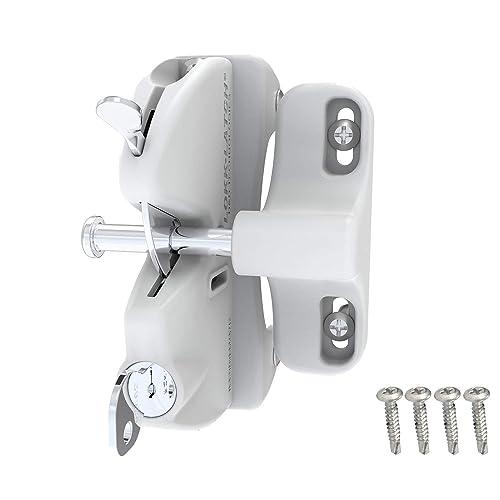 /Æ/— Punch-Free Autom/ático Sensor Muelle de Puerta Blanco Multifunci/ón Autom/ático Autom/áticamente Cierre Para Electr/ónico Suministros Oficina Rancho 1Pcs