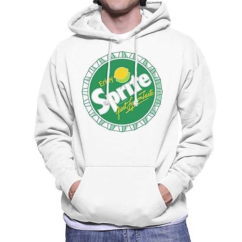 Sprite Japanese Text Lemon Logo Mens Sweatshirt