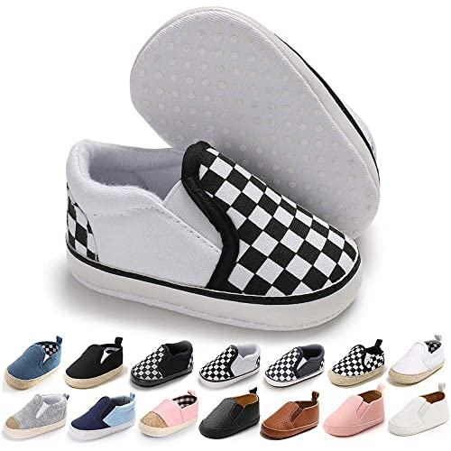 Baby Boys Girls Classic Cotton Wedding Loafers Brogue Toddler Oxford First Walking Dress Shoes Newborn Crib Sneakers