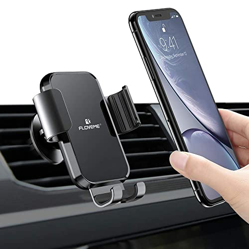 JOYART Universal Car Phone Mount Holder Multifunctional Silicone Cell Phone Holder for Car Air Vent Phone Holder 360/°Adjustable Rotation Compatible with 2.16-3.15inch Smart Phone