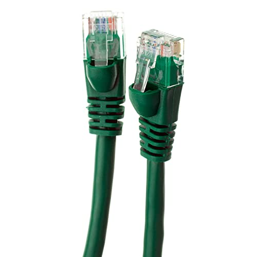 1 Feet - Blue RJ45 10Gbps High Speed LAN Internet Patch Cord Cat5e Ethernet Cable GOWOS 5-Pack UTP Computer Network Cable with Snagless Connector Available in 28 Lengths and 10 Colors