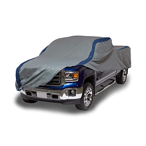 CarsCover Custom Fit 2001-2019 Ford F150 F250 F350 Crew Cab 6.5ft Short Bed Truck Car Cover Heavy Duty All Weatherproof Ultrashield