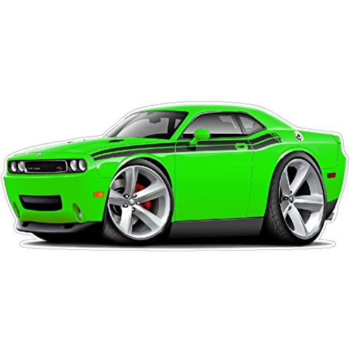2009 2011 Challenger Rt Wall Decal Vintage 3d Cartoon Car Movable Stickers Vinyl Wall Stickers For Kids Room Buy Products Online With Ubuy Maldives In Affordable Prices B071cm16mt