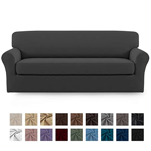 Easy Going Stretch Micro Suede Sofa