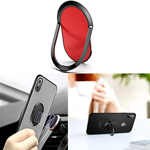 120/° Flip Phone Ring Stand Grip Mount for All Phones Cell Phone Ring Holder Finger Kickstand 360/° Rotation