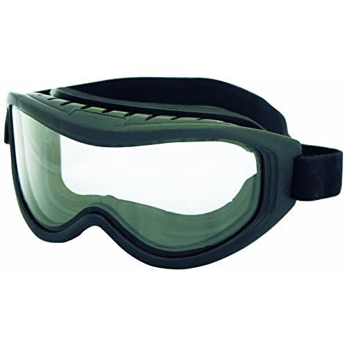 S79103 Sellstrom Lightweight Protective Eyewear Over-The-Glass Safety Glasses Clear Lens Qty 1 Clear Frame with Side shields