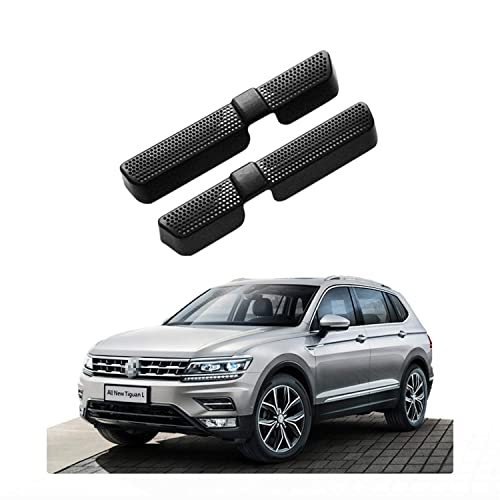 CDEFG Car Floor A//C Air Vent Cover for 2018-2019 C-HR CHR 2 PCS Protective Outlet Grille for Back Seat Air Conditioner Vent