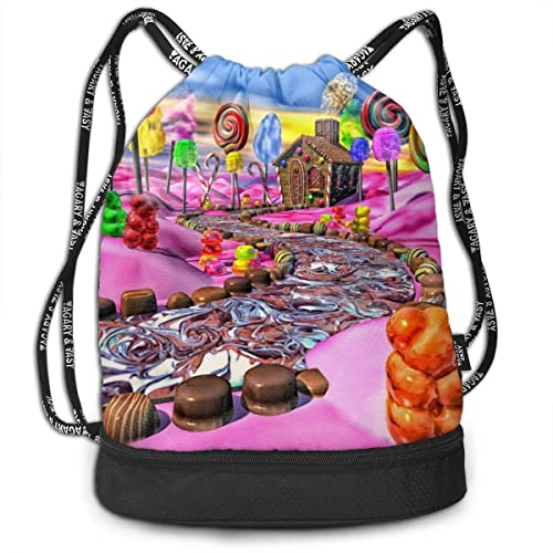 This Is My Life Men And Women Drawstring Backpack Beam Mouth Gym Sack Shoulder Bags