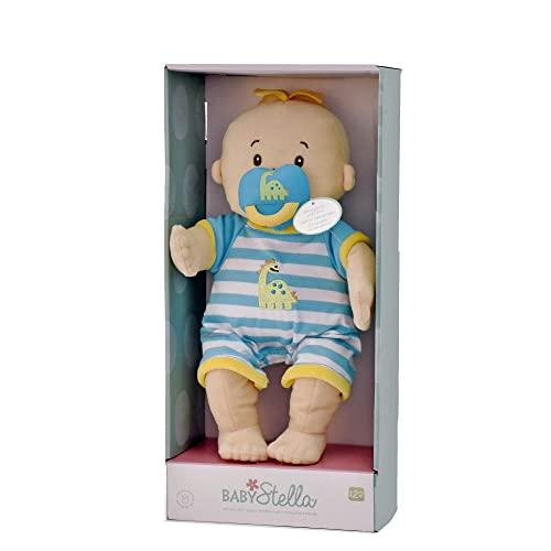 Manhattan Toy Baby Stella Boy Soft First Baby Doll for Ages 1 Year and 143780