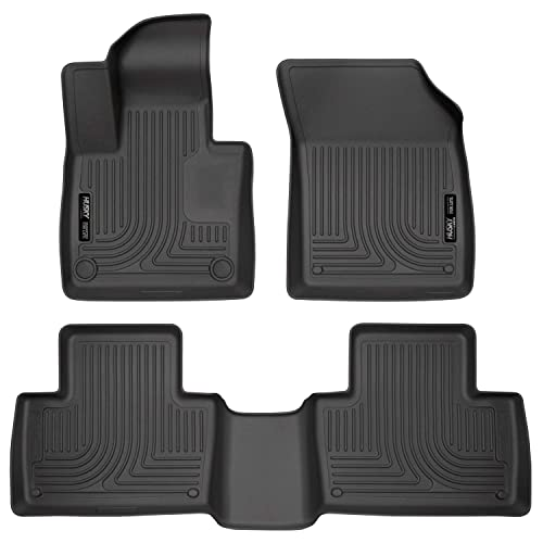 Husky Liners 53698 Fits 2019-20 Dodge Ram 1500 Quad Cab X-act Contour Front and 2nd Seat Floor Liners