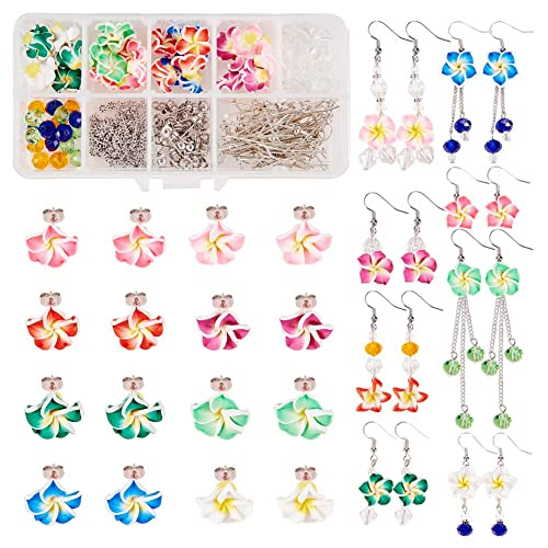 PH PandaHall 50 Pairs Cubic Zirconia Flat Round Ear Studs with Stainless Steel Base for Women Girls 3mm, Pin: 0.7mm