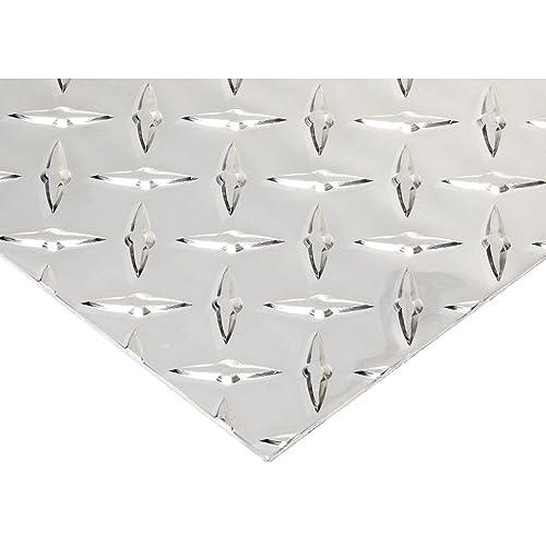 RMP 6061 T6 Aluminum Sheet 12 Inch x 12 Inch x 0.080 Inch Thickness