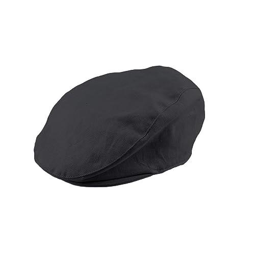 Bienzoe Girls Cotton Striped Bowtie Peaked Sun Hat