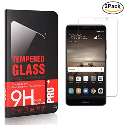 9H Tempered Glass Screen Protector for Huawei Nova 2 Bubble Free 1 Pack Drop Fall Protection Ultra Clear The Grafu Screen Protector for Huawei Nova 2