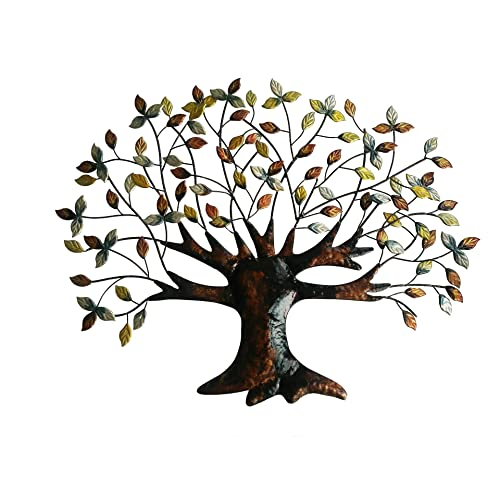 Buy Tree Of Life Wall Art Decoration 30 5 Inch W X 24 Inch H Made Of Iron Online In Maldives B0149hdn3k