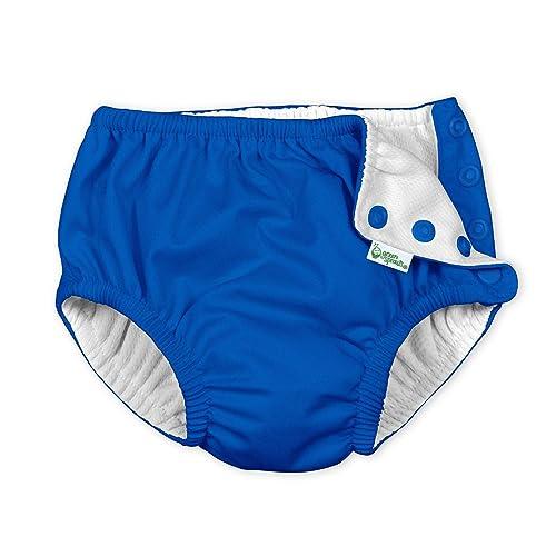 Digirlsor Reusable Swim Diaper Baby Boys Girls Adjustable Swimsuit Trunks,0-3 Years