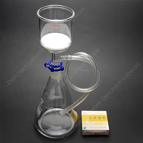 Porosity Medium CHEM SCIENCE INC CS-F0602015M Filter Funnel Buchner Disc OD 20 mm Capacity 15 mL