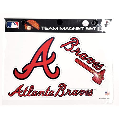 Cleveland Indians Multi Die Cut Magnet Sheet Heavy Duty Auto Home Baseball Rico Industries Inc