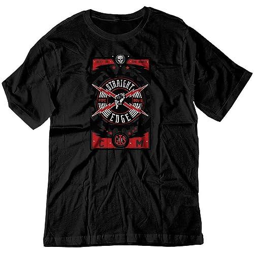 BSW Youth Boys Straight Edge Punk Pro Wrestling cm GTS Zip Hoodie