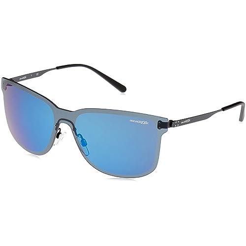 Arnette Mens Hundo-p2 Rectangular Sunglasses GUNMETAL 39.0 mm