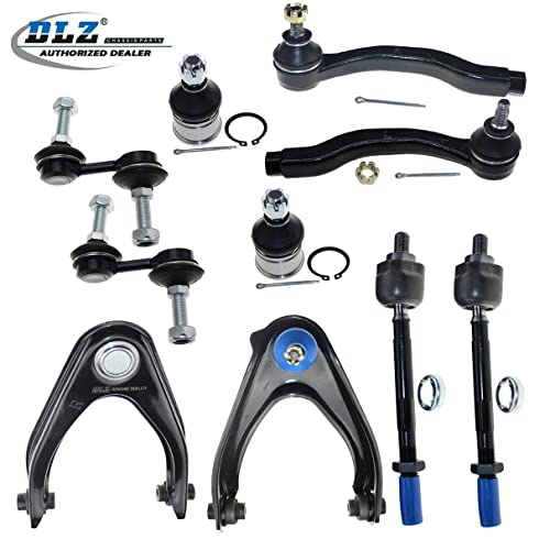 DLZ 14 Pcs Suspension Kit-Front Rear Upper Control Arm Assembly Lower Ball Joint Tie Rod End Sway Bar Strut Mount Kits Compatible with 1997 1998 1999 Acura CL 1994 1995 1996 1997 Honda Accord