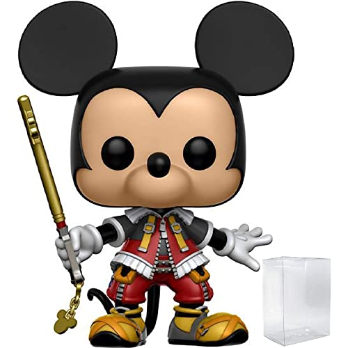 Includes Compatible Pop Box Protector Case Kingdom Hearts 3 Funko 5 Star Disney Donald Duck Action Figure