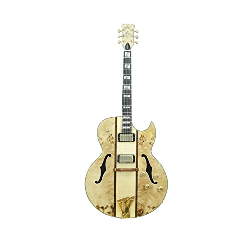 ivy IJZ-500 NA Jazz Solid-Body Electric Guitar Natural