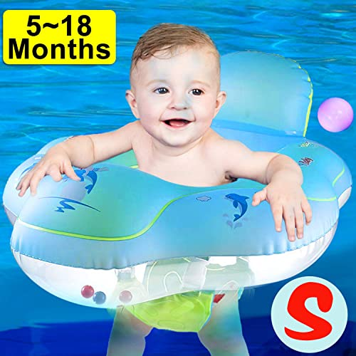 Kids Baby Cute Duck Float Seat Boat Inflatable Swimming Ring Outdoor Pool Toy DS
