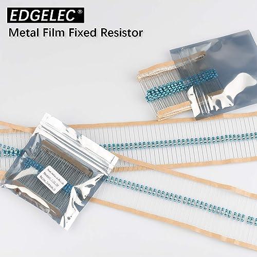 /±1/% Tolerance Metal Film Fixed Resistor EDGELEC 100pcs 3.3 ohm Resistor 1//2w 0.5Watt Multiple Values of Resistance Optional