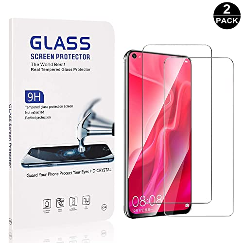 9H Hardness Tempered Glass for Huawei Y5 2019 UNEXTATI Ultra HD Anti-Fingerprint 1 Pack Huawei Y5 2019 Screen Protector Crystal Clear Anti-Scratch