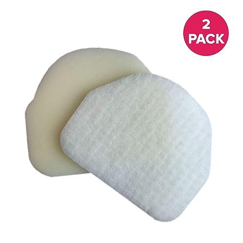 2 Pack Green Label Foam XFF450  and Felt Filter Kit for Shark Vacuum
