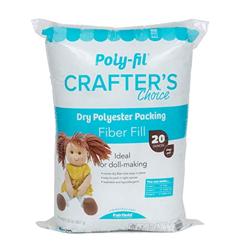 Fairfield Poly Fil Premium Fiber Fill 32-Ounce Тwо Расk