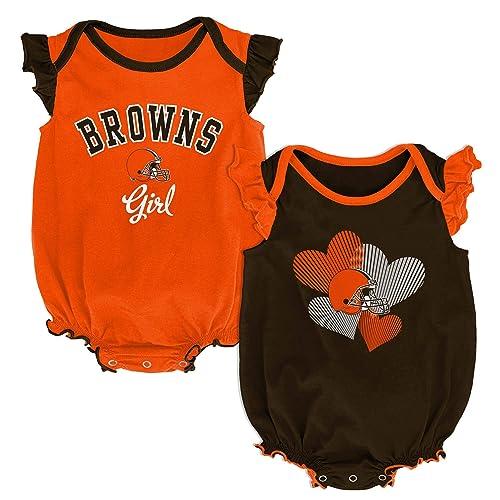 Outerstuff NBA Newborn Infants Girls Homecoming 2 Piece Creeper Bodysuit Set