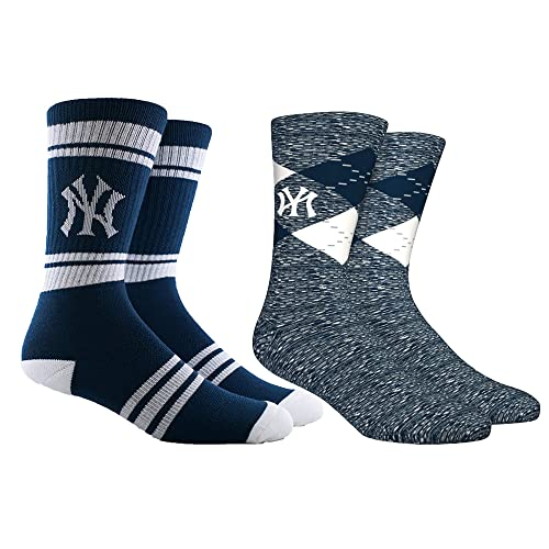 PKWY Unisex 1-Pack MLB New York Mets Crew Socks