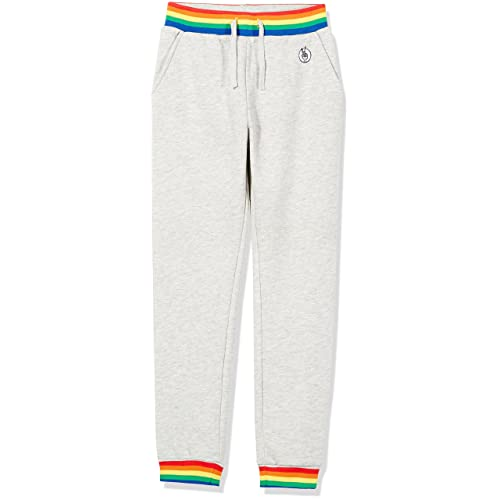 Kid Nation Kids Unisex Casual Sweatpants Pull On Jogger Pants with Pockets for Boys and Girls 4-12 Years