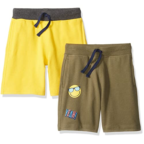 Spotted Zebra Boys Colorblock French Terry Shorts Brand