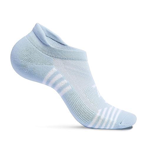 1 Pair Zeropes Ultra Comfort No Show Running Athletic Socks for Women Men