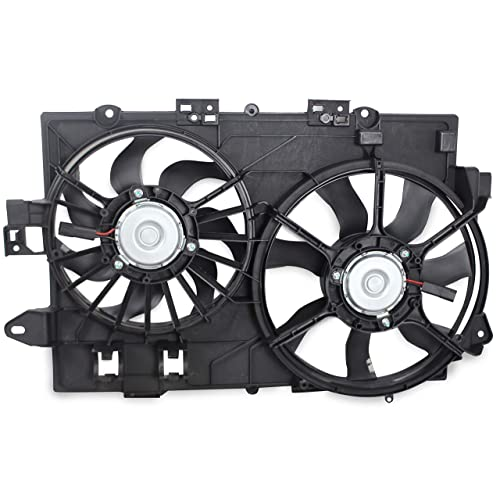 BOXI Left Driver Side Radiator Cooling Fan for 1998 1999 2000 2001 2002 2003 2004 2005 2006 Volkswagen Beetle Replaces 6X0959455C 6X0 959 455 C