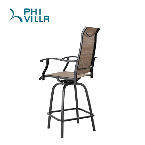 Terrific Buy Phi Villa Swivel Bar Stools All Weather Patio Furniture Andrewgaddart Wooden Chair Designs For Living Room Andrewgaddartcom